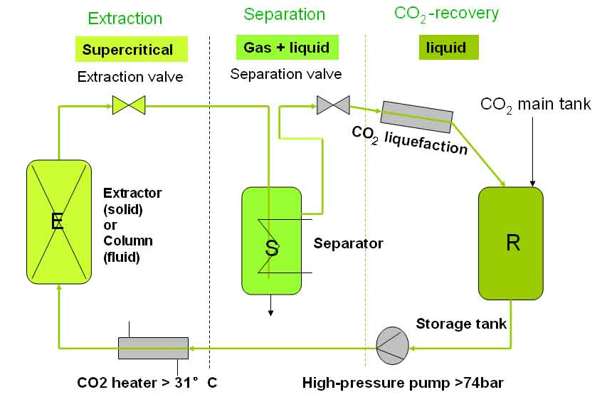 Supercritical CO2 Process for Nutraceuticals - A S Harrison & Co